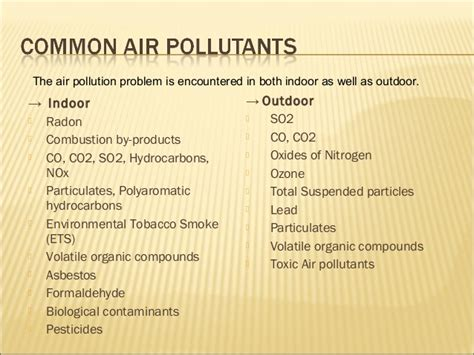 environmental pollution  effect