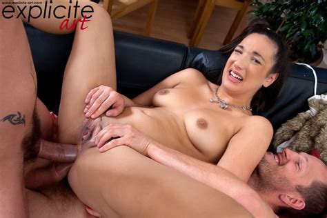 Classic French Anal Threesome With Dp Fucking Pichunter