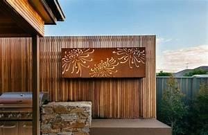 Decoration Murale Acier : l 39 acier inoxydable ou l 39 acier corten en d coration de ~ Teatrodelosmanantiales.com Idées de Décoration