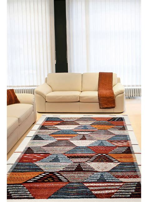 tapis salon tapis salon berber orange