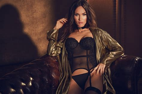 Megan Fox's Latest Lingerie Campaign Is Too Hot to Handle ...