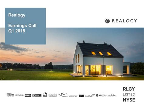 Realogy Holdings 2018 Q1 - Results - Earnings Call Slides ...