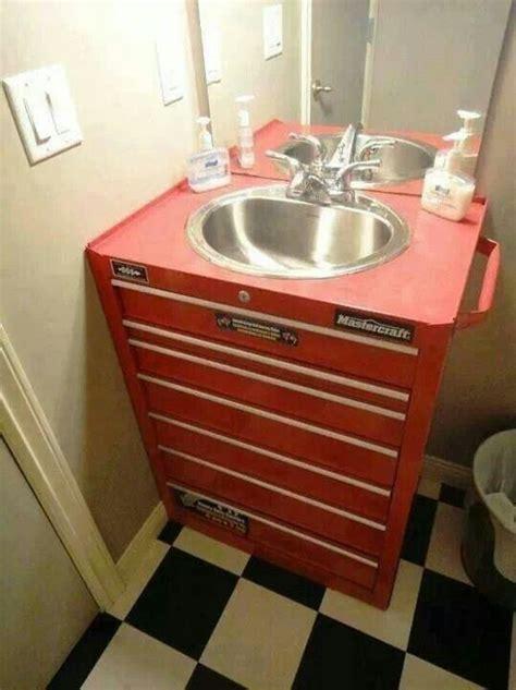 man cave bathroom sink tool box bathroom sink bathrooms pinterest home