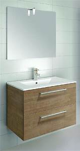 1 vasque 2 robinets elegant pack complet siena cm blanc With meuble salle de bain simple vasque 2 robinets