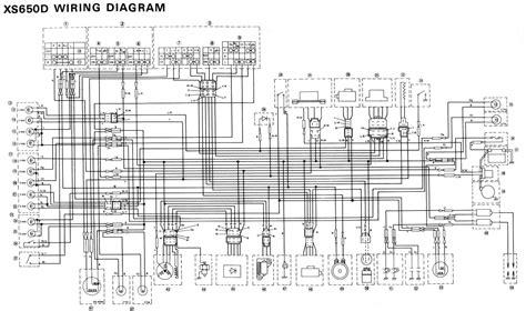wiring diagram yamaha 1977 xs650d 61485 circuit and wiring diagram