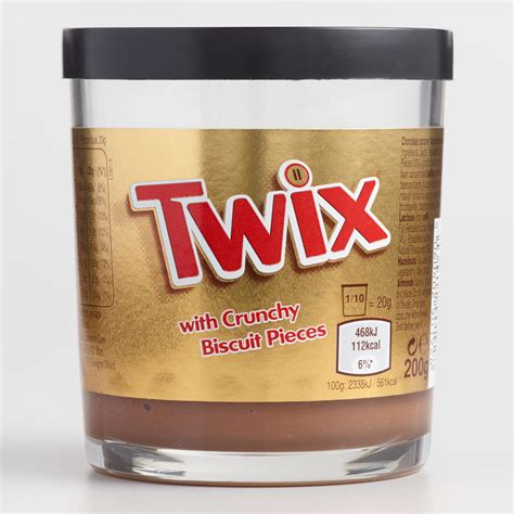 Twix Spread With Crunchy Biscuit Pieces - The Green Head