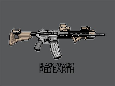 assaulter carbine image black powder red earth indie db