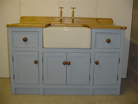 belfast sink kitchen unit lulworth blue sink unit the olive branch kitchens ltd 4411