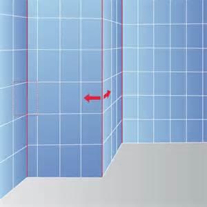 Installer Baignoire Mur Pas Droit by Calepinage Pour Le Carrelage Mural Carrelage