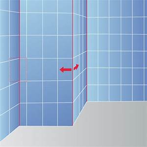 Comment Couper Carrelage Deja Posé : calepinage pour le carrelage mural carrelage ~ Melissatoandfro.com Idées de Décoration