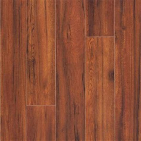 Hickory Laminate Flooring Home Depot by Hton Bay Maraba Hickory Laminate Flooring 5 In X 7