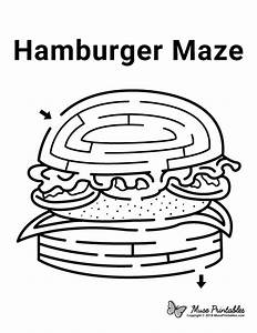 Box Templates Hamburger