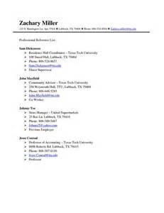 reference sheet resume exle professional references page template http www