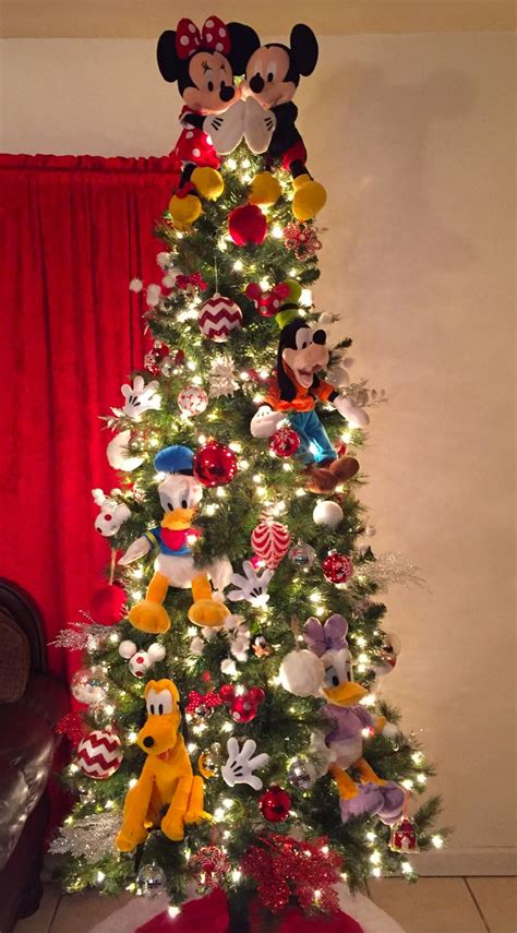 mickey mouse christmas tree ideas