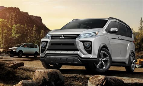 Mitsubishi Delica Backgrounds by 2018 Mitsubishi Delica Previewed By Concept Heading To