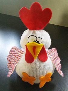 Poule Pour Paques : poule chaussette un monde meilleur ~ Zukunftsfamilie.com Idées de Décoration