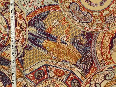 Vintage Imari China Fabric Of The Week  02 December 2015