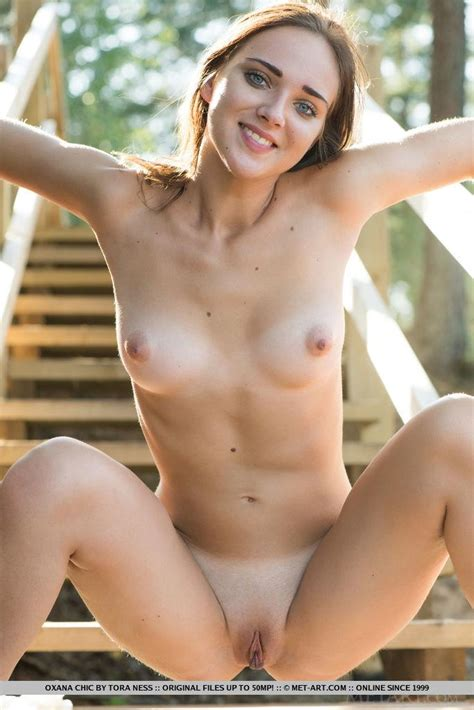 Cute Girl Oxana Chic Gets Naked In Debut Set Coed Cherry