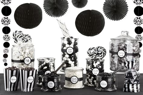 black and white candy table black and white candy buffet oh nuts