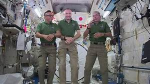 Christmas in Space: ISS astronauts celebrated with Star ...
