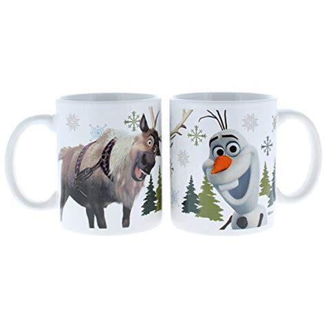 disney mugs frozen designs zak olaf sven coffee pk total