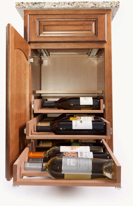 wine rack storage cabinet in cabinet wine racks by wine logic gt gt kitchen storage