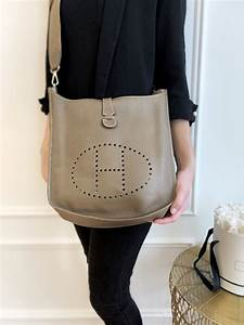 hermés evelyne iii 33 taurillon clemence taupe luxury bags