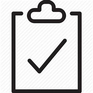 Bullets, checkbox, clipboard, do, list, survey, to icon ...