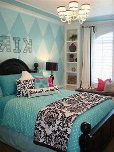 Magnificent Light Blue Teenage Girl Bedroom Decorating ...