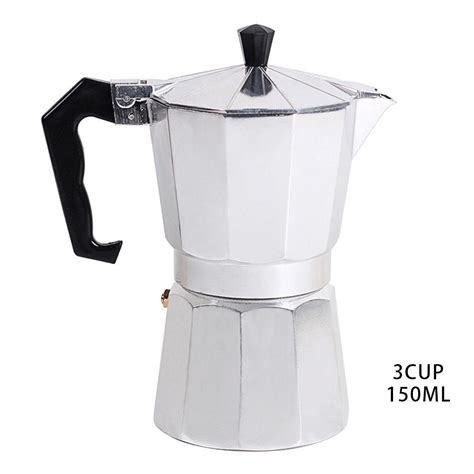 A wide variety of stovetop aluminum espresso coffee maker options are available to you, such as function, power source, and warranty. AIHOME Stovetop Coffee Maker Aluminum Mocha Espresso Percolator Pot Coffee Maker Mocha Pot 1cup ...