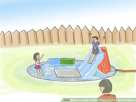 How To Create A Water Playground For Small Children