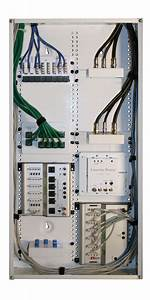 Structured Wiring Cable Distribution Panel For Home Tv Internet Audio And Communications