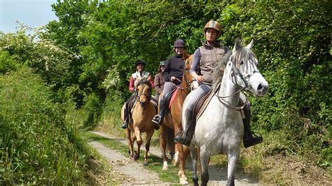randonn 233 e 224 cheval en baie du mont michel