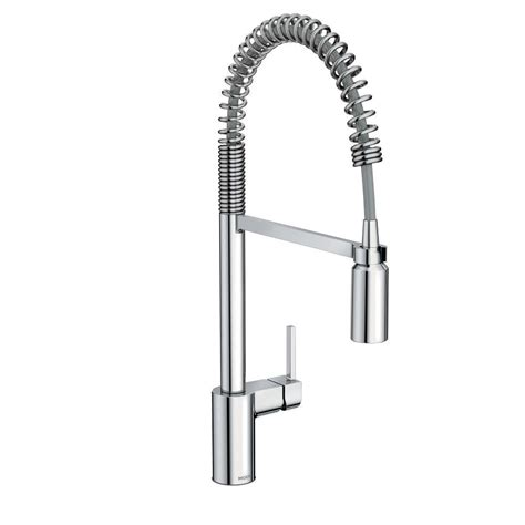 moen benton single handle pull down sprayer kitchen faucet