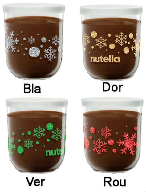 pot de nutella noel pots 233 dition limit 233 e 200 g nutella no 235 l 2017 autres loisirs