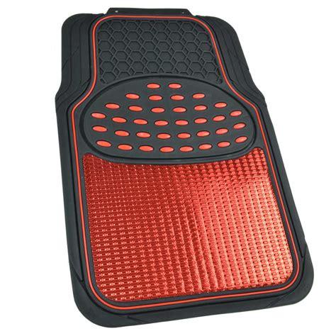 floor mats for cars black metallic design rubber car floor mats ring