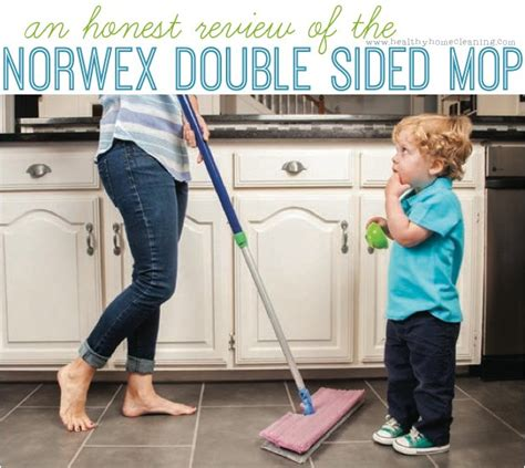 norwex double sided mop review   worth switching