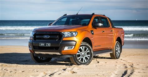 ford ranger wildtrak 2017 ford ranger scores minor feature updates on sale now
