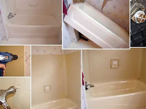 replace  repair  mobile home bathtub mobile home repair
