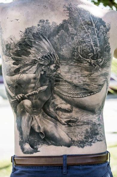 native american tattoos  men indian design ideas