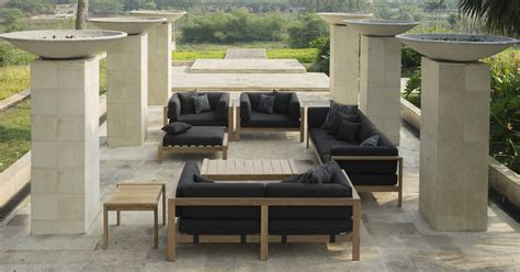 At Home Outdoor Furniture by Modern Teak Cushion Club Chair Barn Style Contract Hotel