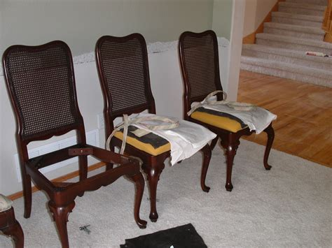 How To Reupholster A Dining Reupholstering Dining Room Chairs Home Design Ideas