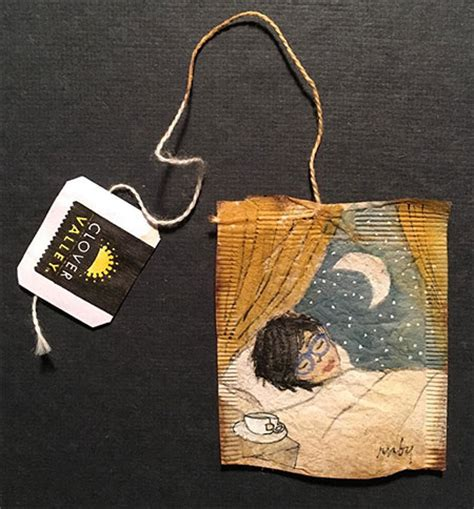 tea bag art