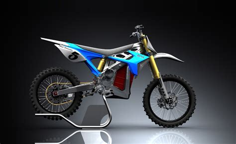 Brd Redshift Electric Motocross Prototype Bike Introduced