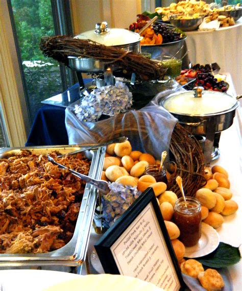 wedding buffet bbq cuz you know all our freinds/family