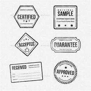rubber stamps designs collection by owpictures graphicriver With company stamp template