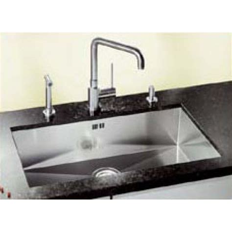 blanco zerox   stainless steel undermount sink