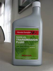 What Kind Of Transmission Oil  Fluid In Manual Trans