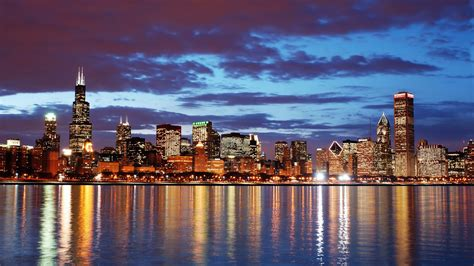 chicago skyline hd wallpaper  images