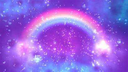 Rainbow 4k Space Galaxy Unicorn Wallpapers Clouds